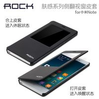 4Color For Xiaomi Mi Note LTE 4G 5 7 Real Original Rock Brand Leather Phone Case