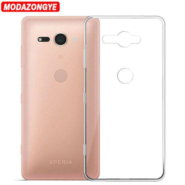 size 40 932af 9a354 US $1.99 20% OFF For Sony Xperia XZ2 Compact Case Sony XZ2 Compact Case  Transparent TPU Cover Phone Case For Sony Xperia XZ2 Compact H8314 H8324-in  ...