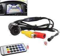 front rear parking camera front back view parking camera car parking distance+ photo on monitor with remote controller