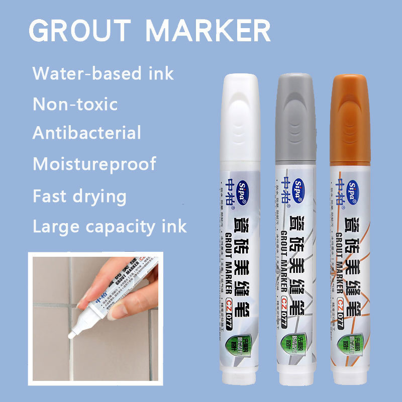 Fast Drying Grout Pen Moistureproof Marker Pens Ideal To Restore Tile Gap Big Capacity Ceramic Tile Gap Repair Pen Free Shipping майка gap gap 15