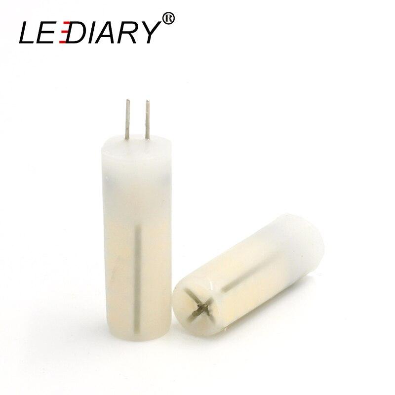 Led Bulbs & Tubes Lights & Lighting 5pcs Lediary Led Dimmable G4 3w Ac/dc 12v 48led 3014 Silicon Led Corn Lamp Silica Gel Milk White Cover Warm/cold White 15*50mm