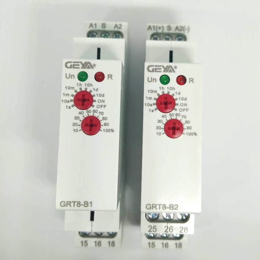 DIN Rail 16A 12V 24V 220V SPDT Delay OFF Timer GRT8-B AC230V or AC/DC12-240V Power Off Delay Time RelayDIN Rail 16A 12V 24V 220V SPDT Delay OFF Timer GRT8-B AC230V or AC/DC12-240V Power Off Delay Time Relay
