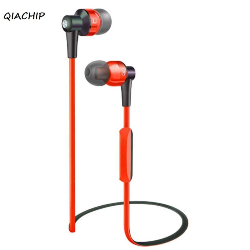 QIACHIP Wireless Headphone Bluetooth Earphone sports headset Fone de ouvido For Phone Ecouteur Auriculares Bluetooth V4.1 bluetooth earphone wireless music headphone car kit handsfree headset phone earbud fone de ouvido with mic remax rb t9