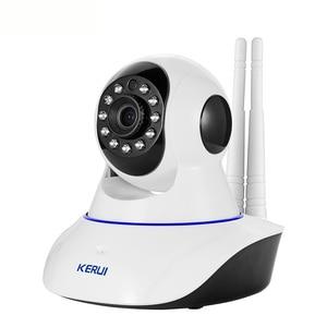 Image 5 - KERUI W2 لاسلكي مستودع المرآب لص نظام إنذار أمن الوطن PSTN GSM واي فاي ثلاثة في واحد وضع مع 720P كاميرا IP