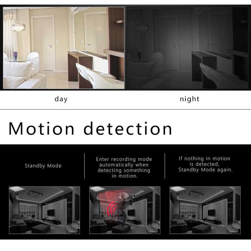 مصغرة كاميرا كامل HD 1080P للرؤية الليلية كاميرا دقيقة الحركة المنشط فيديو مسجل صوتي كاميرا صغيرة يمكن العمل 7x24 ساعة
