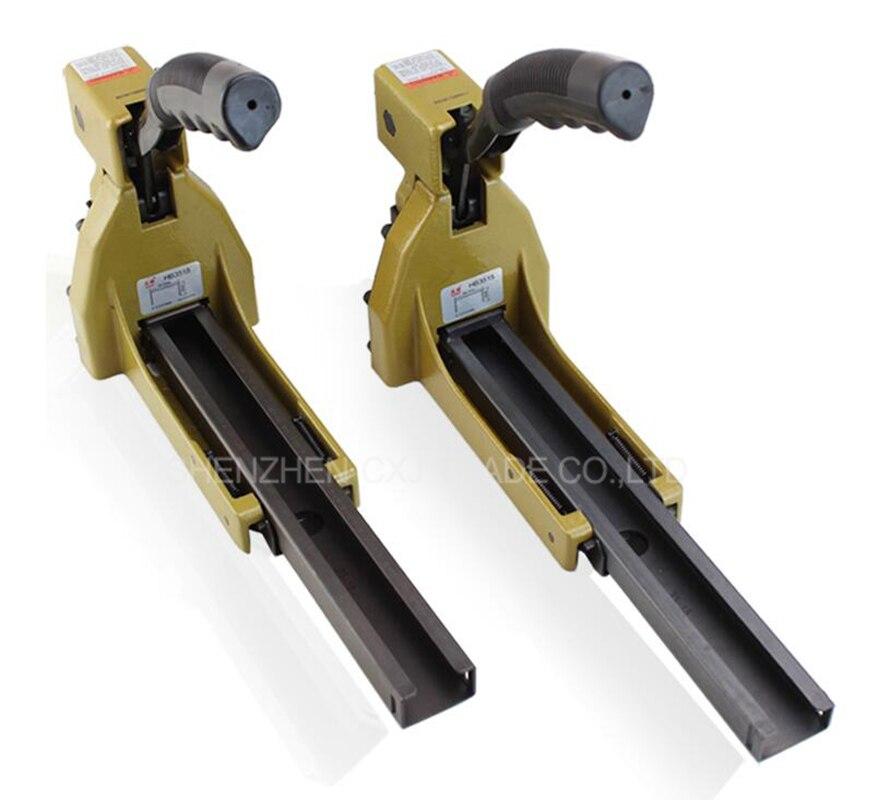 Free shipping 2pcs  HB3518 Manual Carton Box Mini Stapler Nailer 1-3/8 Sealer Closer For 16-18mm Staples comix durable 50 page 12 stapler w staples blue 3 pcs