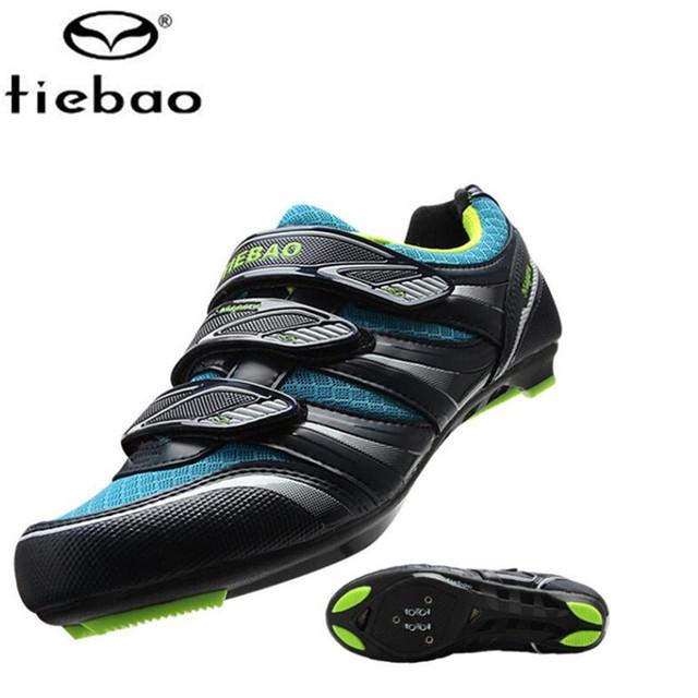 Sapatilha ciclismo Tiebao sapatos de ciclismo off road superstar sneakers homens mulheres bicicleta do esporte athletic shoes chaussure homme