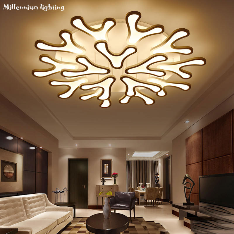 Acrylic modern led ceiling lighting living room bedroom dining room chandelier ceiling home fixtures AC110-240V free shipping new modern led chandeliers for living room bedroom dining room acrylic iron body indoor home chandelier lamp lighting fixtures