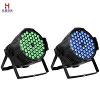 54x3W LED stage lights high power RGB wash effect light led par dmx stage light dj equipment (2pcs/lot)