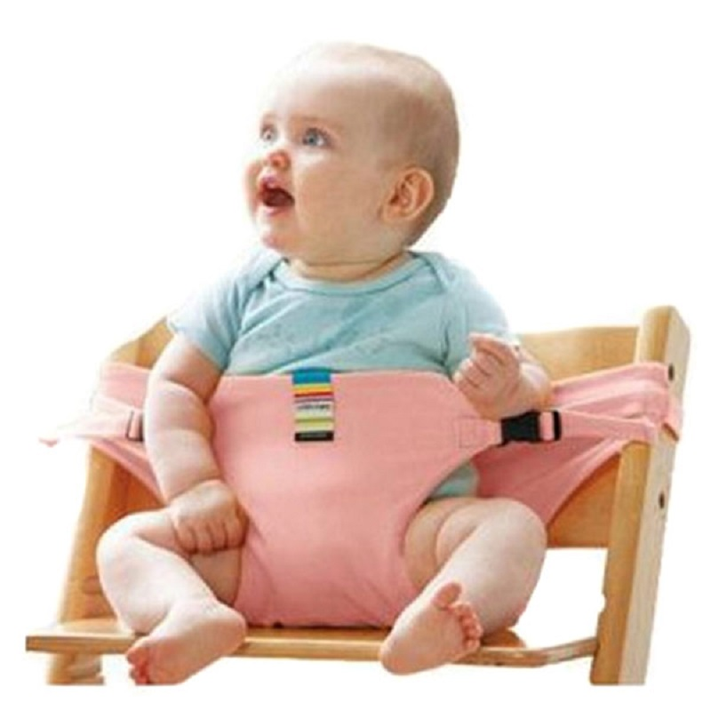 Portable Baby Chair Infant Seat Product Dining Lunch Chair Seat Safety Belt Feeding High Harness