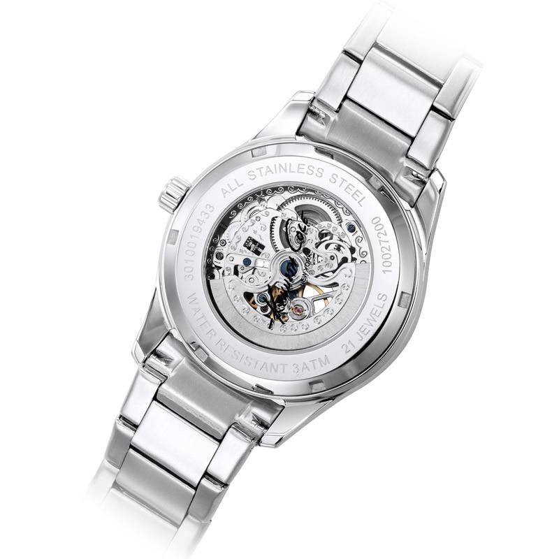 Kenneth Cole Męskie mechaniczne zegarki na rękę KC10027200 - Męskie zegarki - Zdjęcie 5
