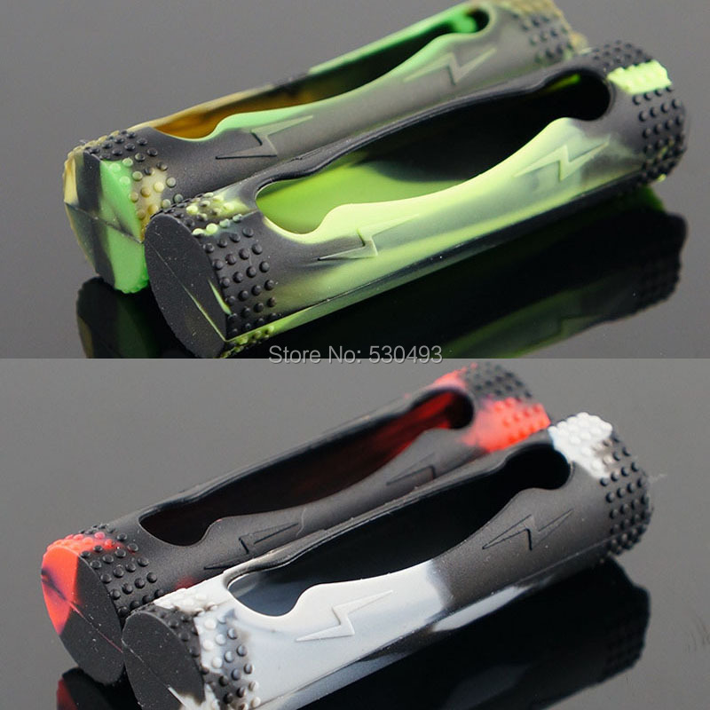 2Pcs / lot 18650 Baterija silikonska torbica zaštitna rukava za - Alat za njegu kože - Foto 6
