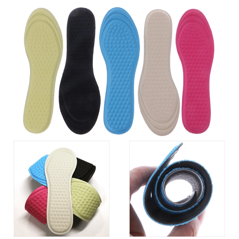 KLV New Women Breathable Elastic Pad Adjustable Size Massage Insole With Soft Non Woven