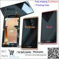 Для HTC Desire 600 606 606 w dual Sim Оригинальный Черный/Красный/Желтый Полный ЖК-Дисплей и Сенсорный Экран Digitizer Ассамблеи + рамка Тест + трек
