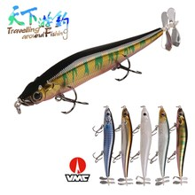 TAF A+ Hot Model Pencil 11cm 14.1g Fishing Lure Equipped with Props Propeller Quality Professional Retail Bait VMC Hook Swimbait