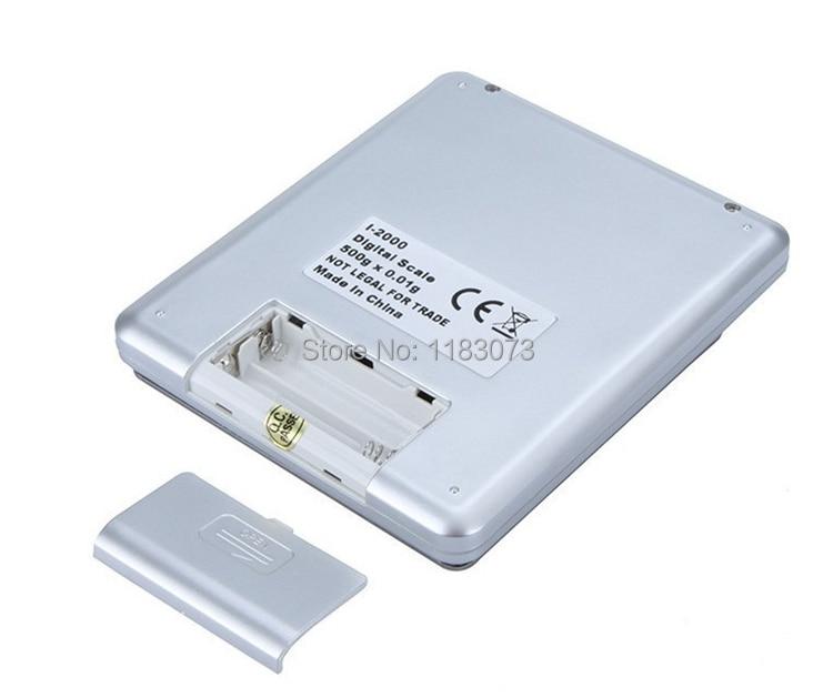 500 g 0,01 g digitális zseb ékszer mérleg 500 G 0,01 - Mérőműszerek - Fénykép 4