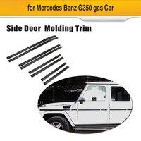 Сухой углеродного волокна кузова отделкой в полоску Для Mecedes Benz G Class G55 G65 G550 все бензиновые автомобили и G350 дизельных автомобилей 2013 2017