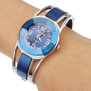 Bracelet Watch Stainless-Steel Hot-Sell Women Luxury Brand Quartz Reloj Mujer Xinhua