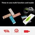 MicroSD SD TF USB2.0 MicroUSB Lightning I-Flash OTG Universal Memory Card Reader Design For Ipad IPhone Android Phone PC
