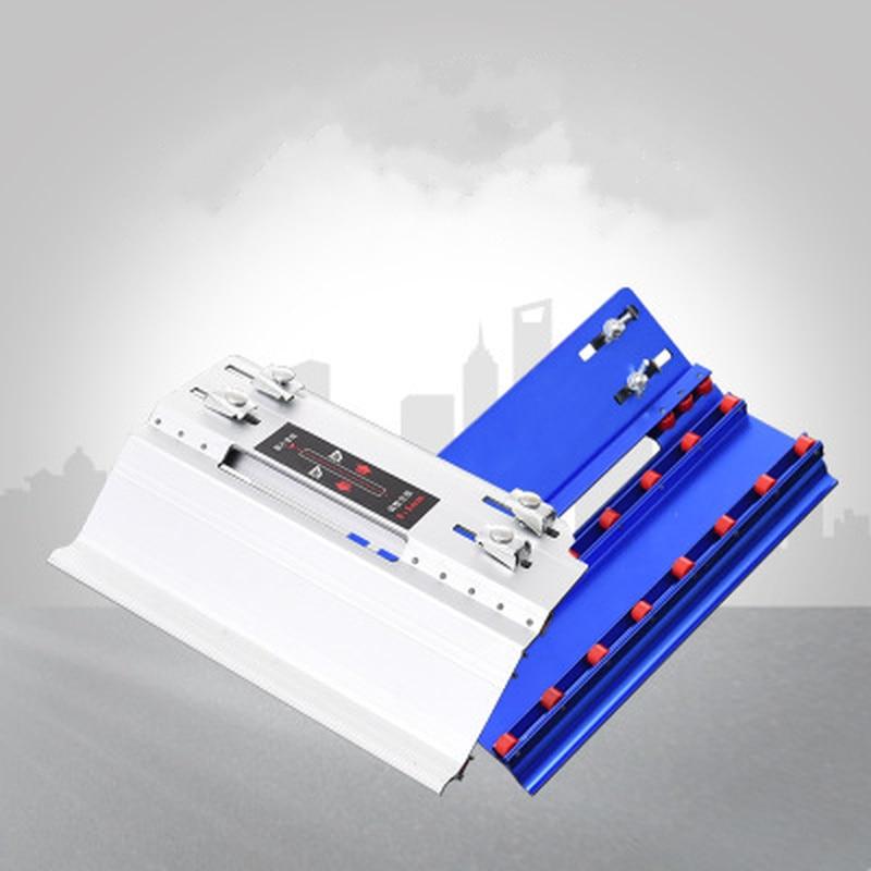 Image 5 - قابل للتعديل البناء 45 درجة الشطب القاطع حجر آلة قطع بلاط الرخام الشطب دليل محدد أدوات البناءمجموعات أدوات يدوية   -