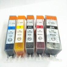 vilaxh PGI-425 CLI-426 Ink Cartridges For Canon PGI425 CLI426 PIXMA MG5340 IP4840 IX6540 MG5140 MG5240 MG6140 MG6240 MG8140