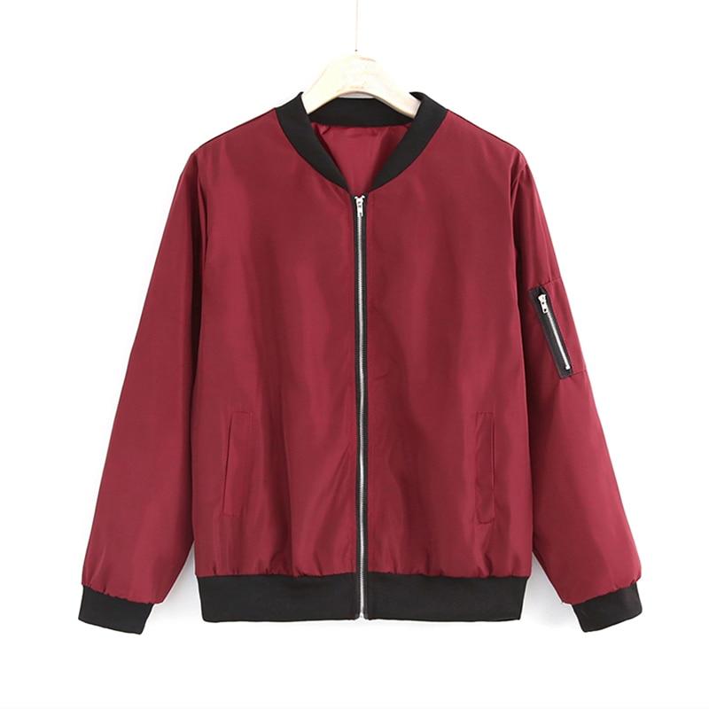 2019 Fashion Windbreaker Jacket Women Summer Coats Long Sleeve Basic Jackets Bomber Thin Women's Jacket Female Jackets Outwear 3