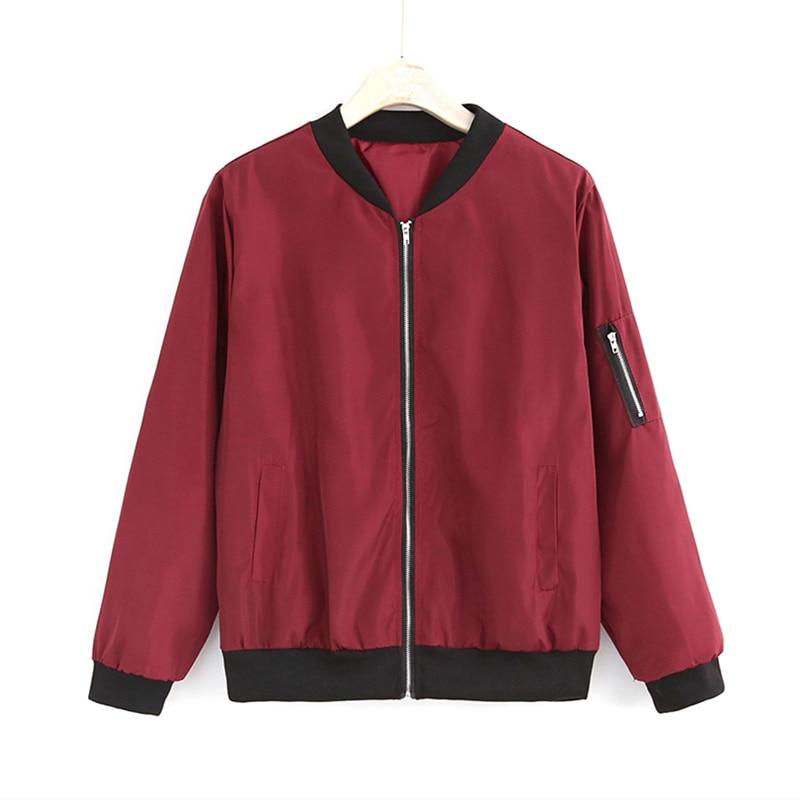 2020 moda kurtka wiatrówka kobiety letnie płaszcze z długim rękawem kurtki typu Basic Bomber cienka kurtka damska kurtki damskie znosić