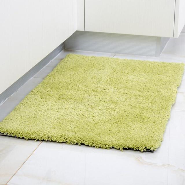 Color puro carpet para pasillo de entrada felpudo antideslizante ...