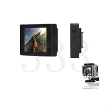 For Gopro Hero 3+/ 4 LCD Bacpac Viewer Monitor Display Screen External Screen With LCD Backdoor Case For Gopro Hero 3+ 4 Camera