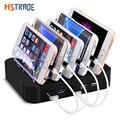 HSTRAOE 48 Вт Интеллект универсальный 5 порт USB multi Зарядное Устройство док-Станция для Sony HTC DHL iphone Samsung зарядное устройство бесплатная доставка