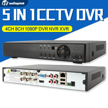 4Ch 8Ch 5 EN 1 1080 P AHD DVR Híbrido Soporte AHD XVR CVI TVI CVBS Cámara IP Onvif 5MP 3MP CCTV NVR P2P RS485 Control Coxial vista
