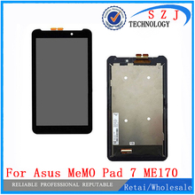 "New 7"" inch For ASUS Fonepad FE7010CG FE170CG ME170 K012 k017 LCD Display with Touch Screen Digitizer Sensor Free shipping"