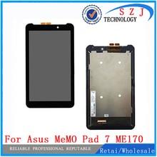 """Nuevo 7 """"pulgadas tablet pc funda de piel Para ASUS Fonepad FE7010CG ME170 FE170CG K012 k017 Pantalla LCD con Pantalla Táctil Digitalizador Sensor"""