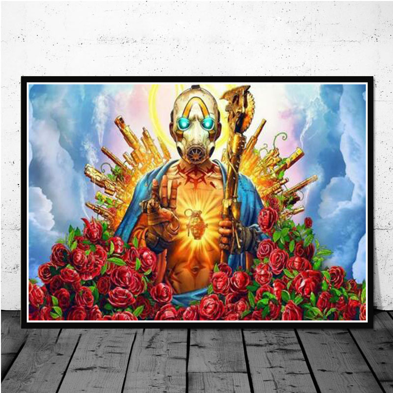 Poster And Prints Hot New Borderland 3 Poster VIdeo Game Gift Anime Canvas Art Painting Wall Pictures For Living Room Home Decor image