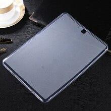 Чехол для Samsung Galaxy S2 9.7 T810 T815 Случаи TPU двусторонняя матовая ТПУ Tablet Cover для Galaxy Tab S 2 9.7 T810 T815 мешок
