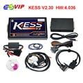 Mais novo Nenhum Token Limitada KESS Gerente Sintonia Kit Kess V2.30 V4.036 V2 Kess ECU Tuning Chip Programador ECU Do Carro Universal V2.23