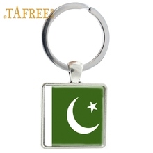 US $0.77 5% OFF|TAFREE fashion flag Square keychain Pakistan Glass Cabochon keyring Metal art picture keyring souvenir gift jewelry FG69-in Key Chains from Jewelry & Accessories on Aliexpress.com | Alibaba Group