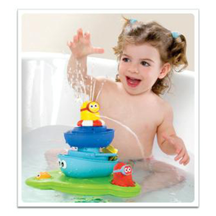 toddler baby baby shower bath fountain water toys spray bathtub tub fountain