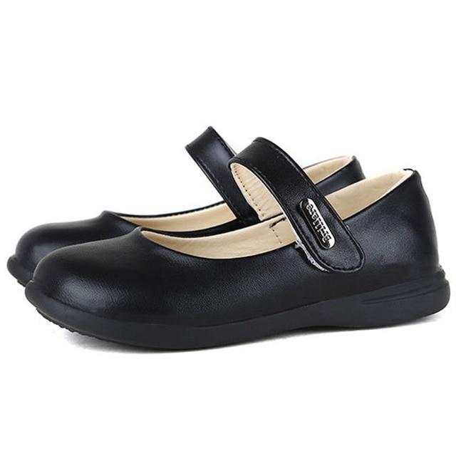 Vintage Ankle Strap Kids Girls Dress Shoes Shallow Girls School Shoes Toddler Girls Student Shoes Princess Shoes Kinderschoenen