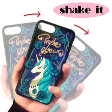 CASEIER Quicksand Liquid Phone Case For iPhone 6 6s Plus Bling Glitter Sand Cover 3D Painting Cat Capa