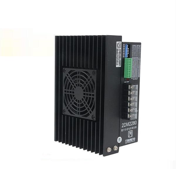 2DM2280 2phase NEMA42 NEMA52 stepper motor driver 32bit DSP AC80-220V 2.2-8.2A цена
