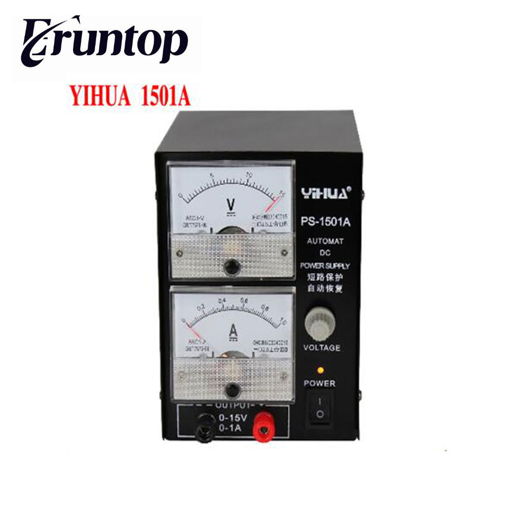 High Quality YIHUA 1501A 15V 1A Adjustable DC Power Supply Mobile ...