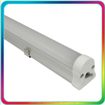 12PCS Warranty 3 Years Super Bright 0.6m 10W 2ft LED Tube T5 600mm Bulb Lights Fluorescent Lamp Daylight