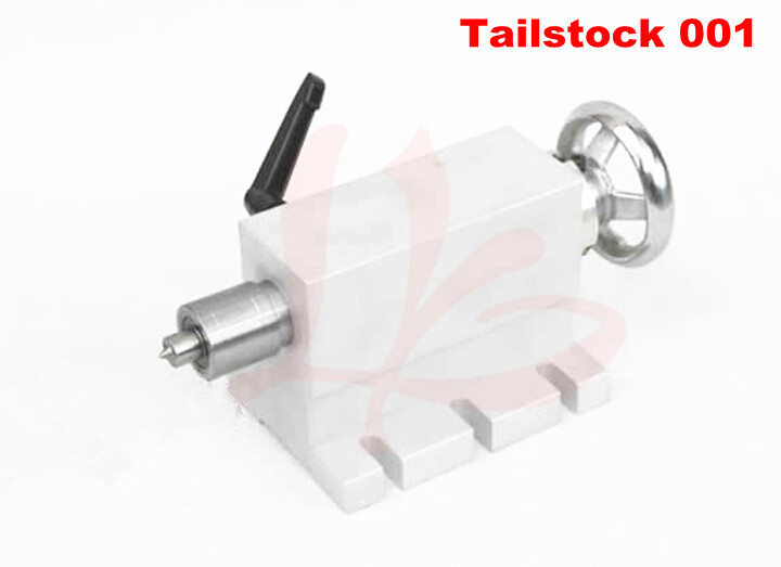 CNC Tailstock for Rotary Axis 4th Axis, CNC Router Engraver Milling Machine cnc 5axis a aixs rotary axis three jaw chuck type for cnc router engraver carving machine
