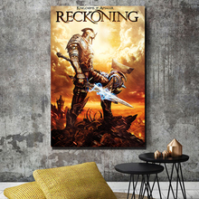 Reckoning Game Kingdoms HD Canvas Paintings For Living Room Modern Wall Art Oil Painting Poster Home Decor the black reckoning
