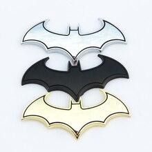 3D металлические наклейки для автомобиля с летучими мышами, металлические наклейки для автомобиля с логотипом, значки, последние наклейки с логотипом Бэтмена, наклейки для мотоцикла, Стильные наклейки для автомобиля