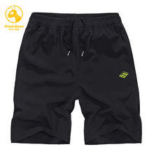 Field Base New Mens shorts polyester for causal and active Durable short with pocket Quick Dry M-5XL beeach male shorts