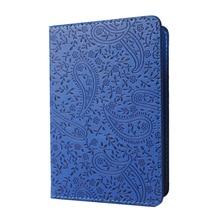 1pc High Quality Women Passport Cover Lavender Waterproof Card Holder PU Leather Travel Passport Holder BIY001