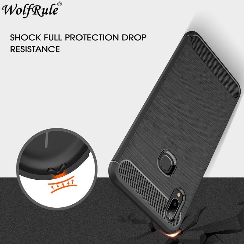 Wolfrule Phone Cover Vivo Y83 Pro Case Rugged Bumper Case For Vivo Y83 Pro Cover Carbon Fiber Coque For Vivo Y83 Pro Case 6.22