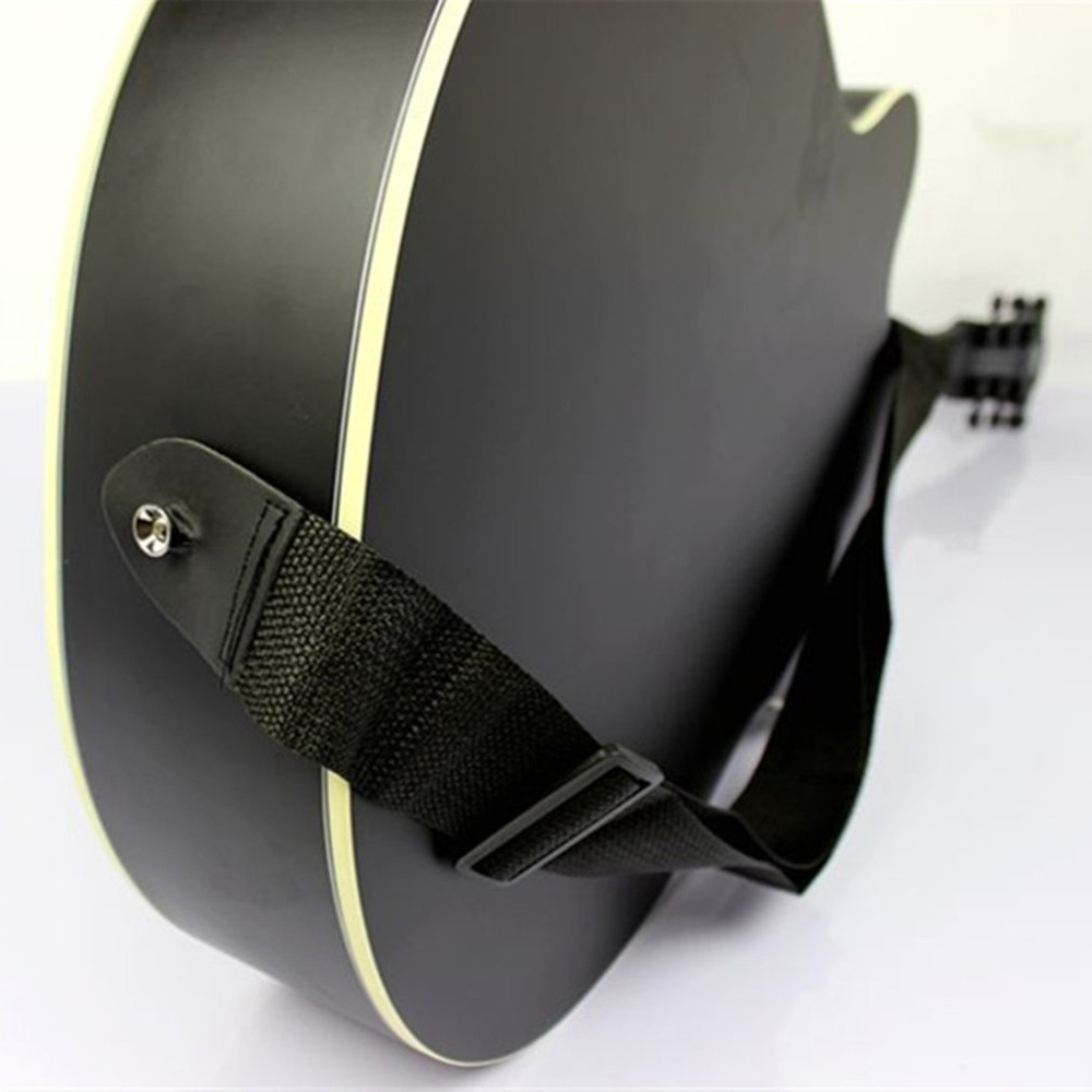 Adjustable Wood Guitar Shoulder Strap Long Belt For Musical Instruments Replacement Parts For Acoustic Folk Classic Guitars Bass